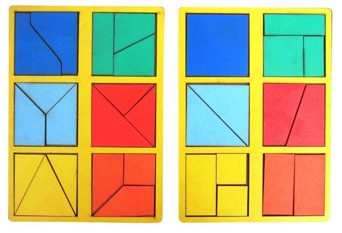 Собирать картинки из квадратов
